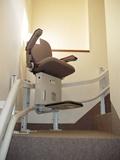 介護保険対象外工事例 階段昇降機